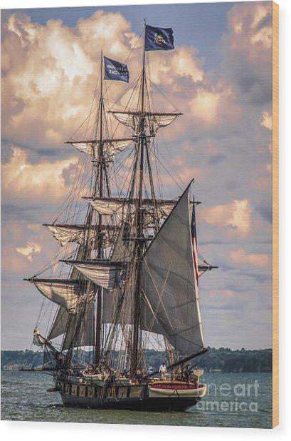Brig Niagara I Wood Print