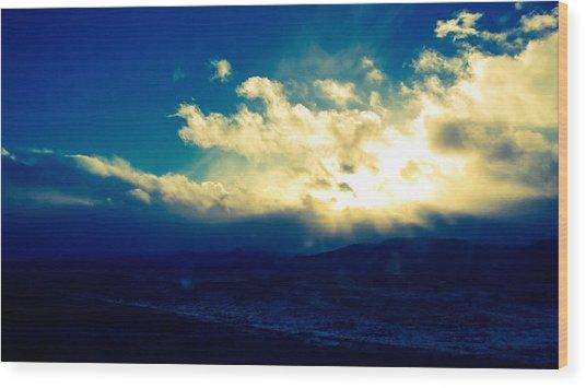 Brightest Clouds Wood Print