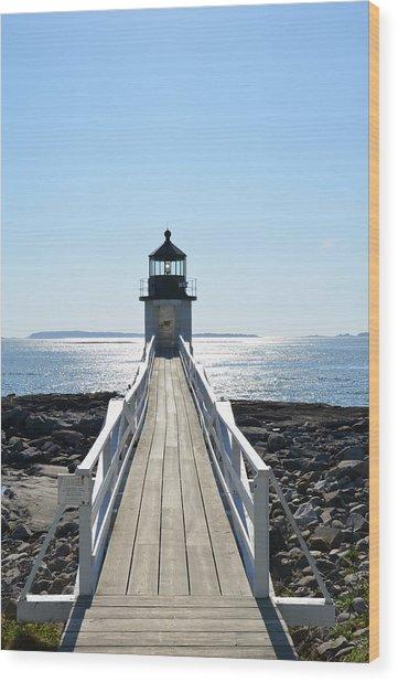 Brilliant Light Wood Print