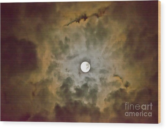 Brilliant Night Sky Wood Print