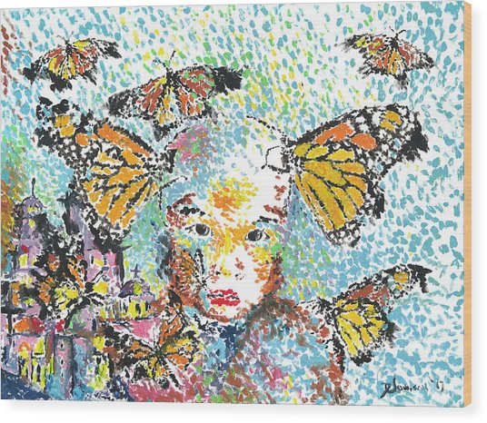 Bring Her Home Safely, Morelia- Sombra De Arreguin Wood Print