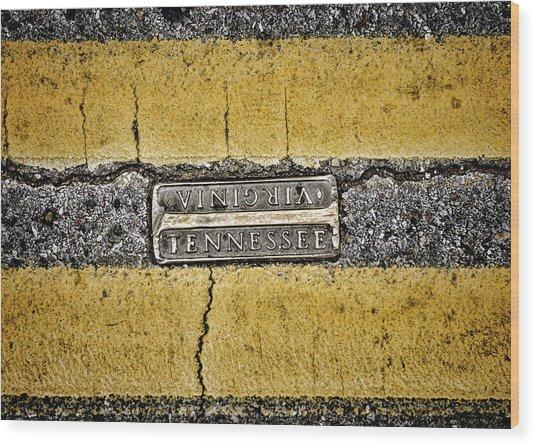 Bristol Line Wood Print