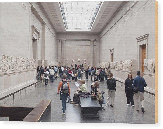 British Museum Gallery 0056 Wood Print by Charles  Ridgway