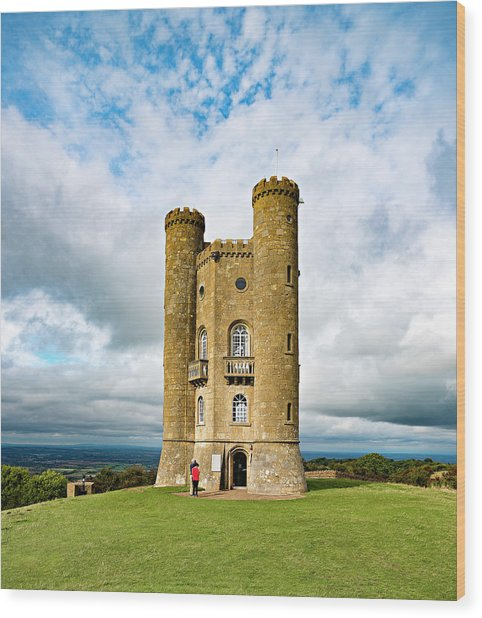 Broadway Tower Wood Print