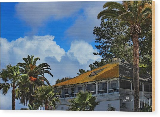 Brockton Villa La Jolla Wood Print