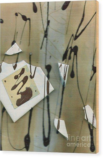 Broken Wood Print