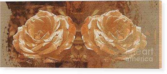 Bronzed Wood Print