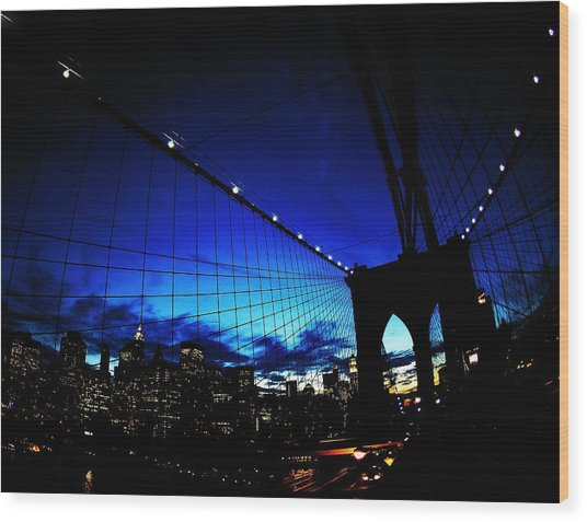 Brooklyn Colours Wood Print