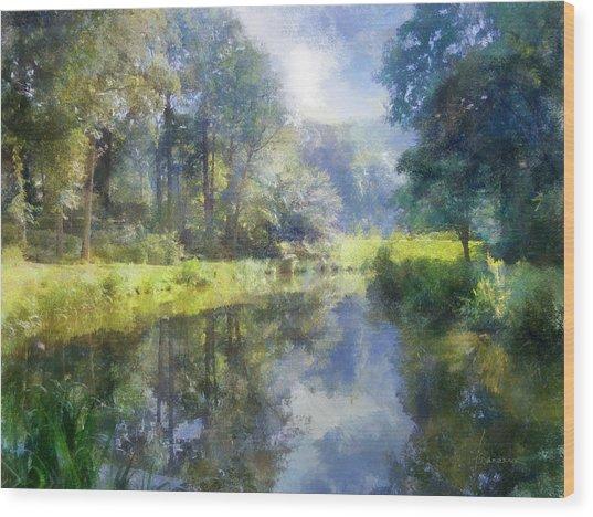 Brookside Wood Print
