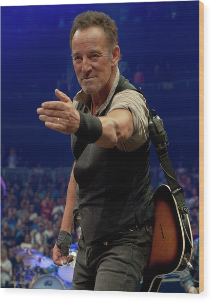 Bruce Springsteen. Pittsburgh, Sept 11, 2016 Wood Print