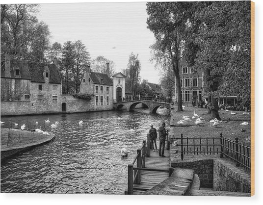 Bruges Bw3 Wood Print