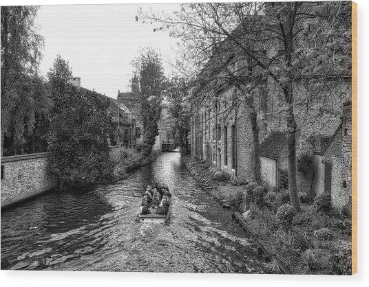 Bruges Bw4 Wood Print