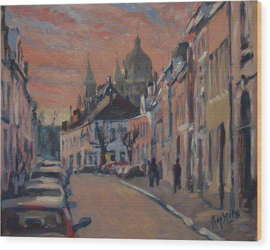 Brusselsestraat Maastricht Wood Print
