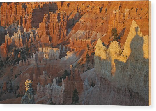 Bryce Canyon Morning Wood Print