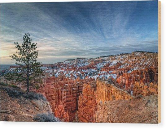 Bryce Canyon Sunrise Wood Print