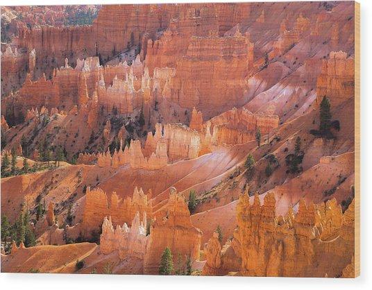 Bryce Glow Wood Print