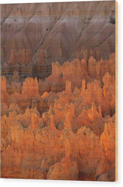 Bryce Hoodoos Wood Print