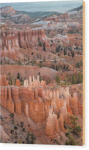 Bryce Morning View Wood Print