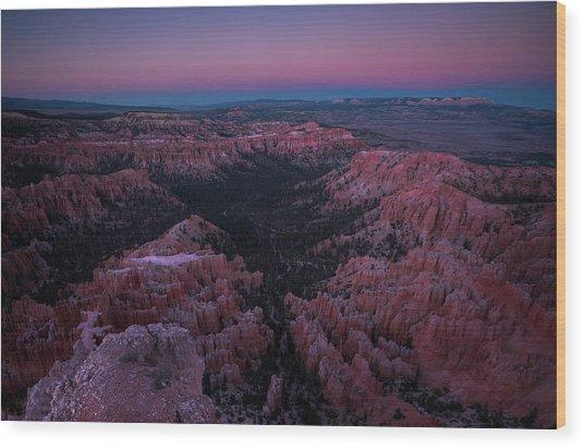 Bryce Point Wood Print