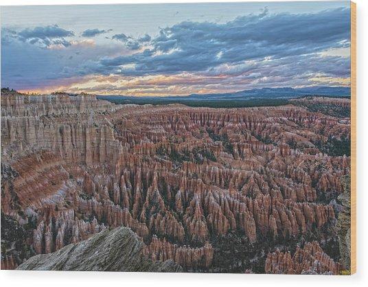 Bryce Point Grandeur Wood Print
