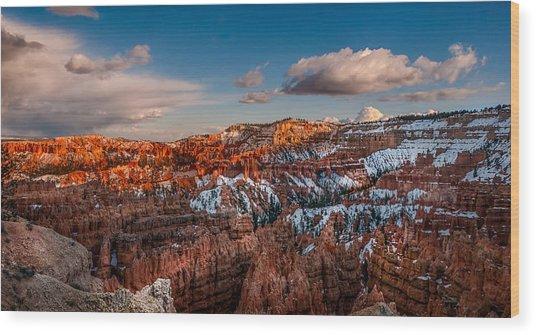 Bryce Sunset Wood Print