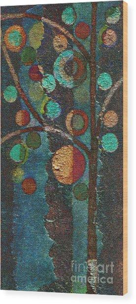 Bubble Tree - Spc02bt05 - Left Wood Print