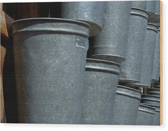 Bucket List Wood Print