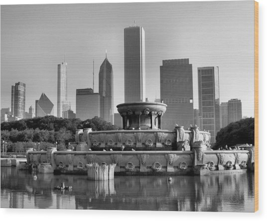 Buckingham Fountain - 2 Wood Print