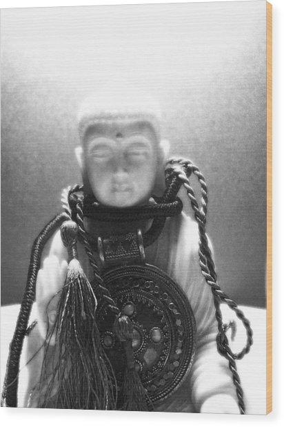 buddh IX  Wood Print by Vah Pall