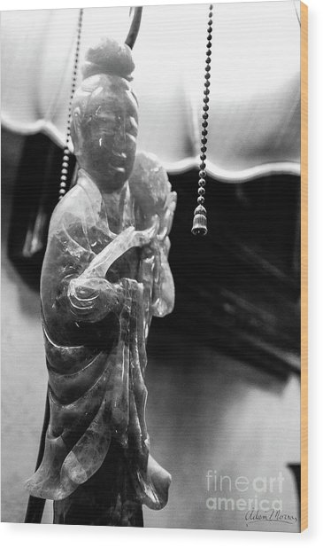 Buddha's Light Wood Print
