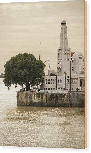 Buenos Aires Lighthouse Wood Print