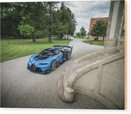 Bugatti Vision Gt Wood Print