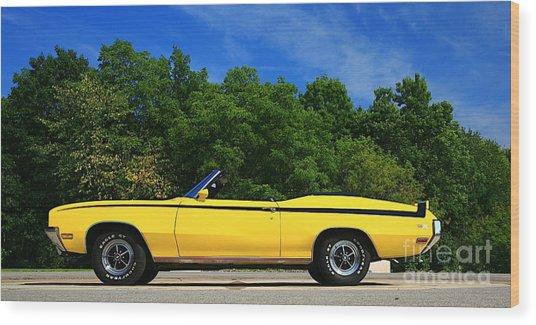 Buick Gsx Wood Print by Robert Pearson