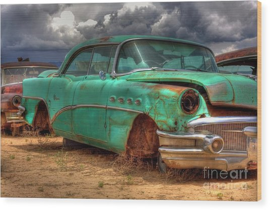 Buick Super Wood Print