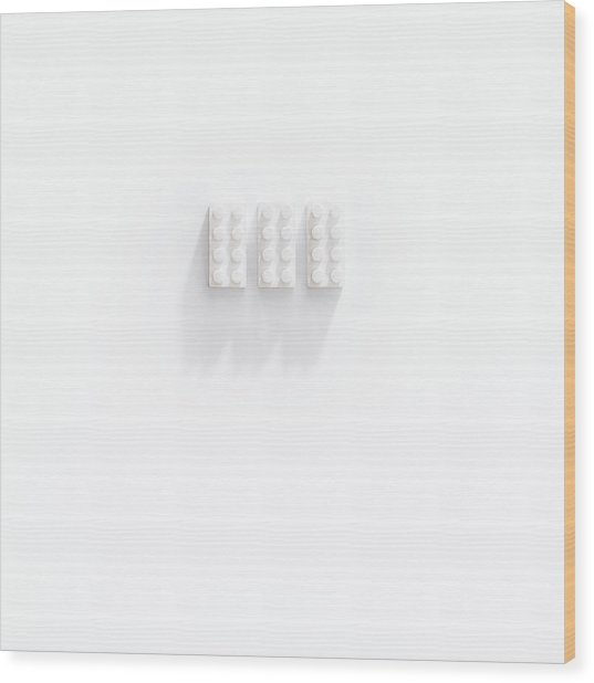 Builidng Blocks Wood Print
