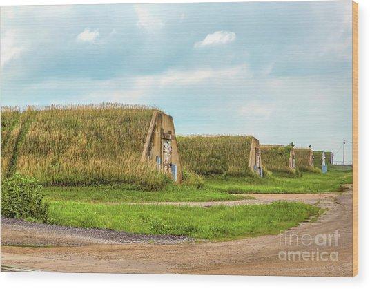 Bunkers Wood Print