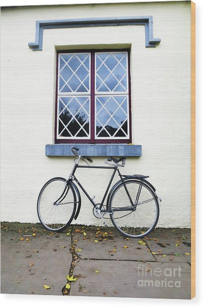 Bunratty Bike Wood Print