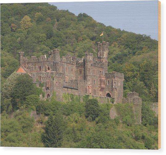 Burg Reichenstein Wood Print by Alan Zeleznikar