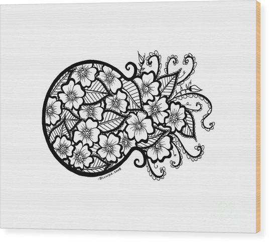 Bursting With Love Wood Print
