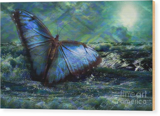 Butterfly Dreams 2015 Wood Print