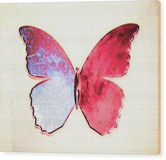 Butterfly Wood Print by Paul Jarrett