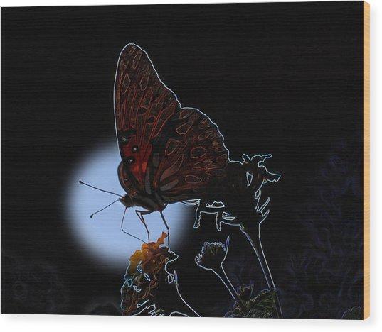Butterfly Wood Print by Rick McKinney