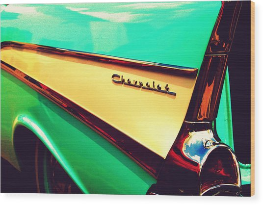 Buy Me A Chevrolet Wood Print