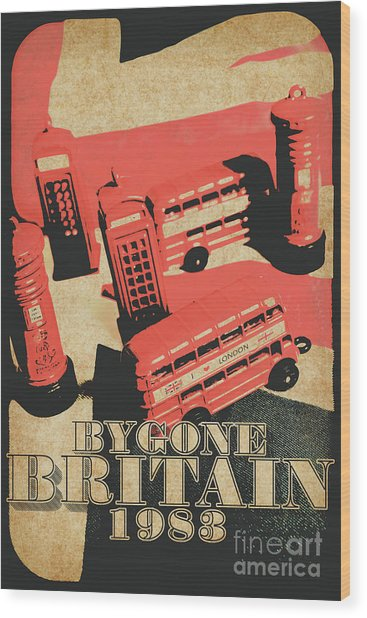 Bygone Britain 1983 Wood Print