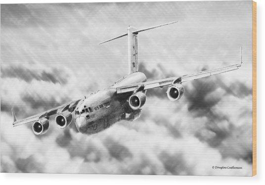 C-17 Wood Print