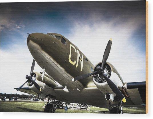 C-47d Skytrain Wood Print