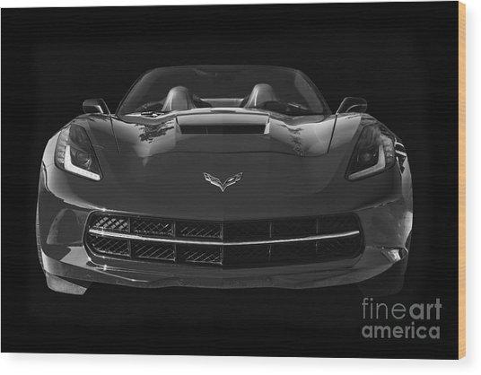 C7 Stingray Corvette Wood Print