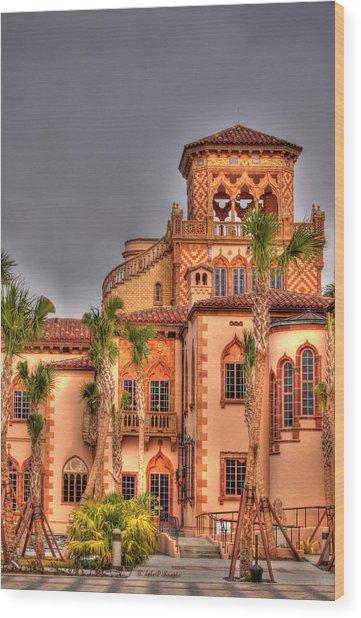 Ca Dzan Mansion South Wood Print