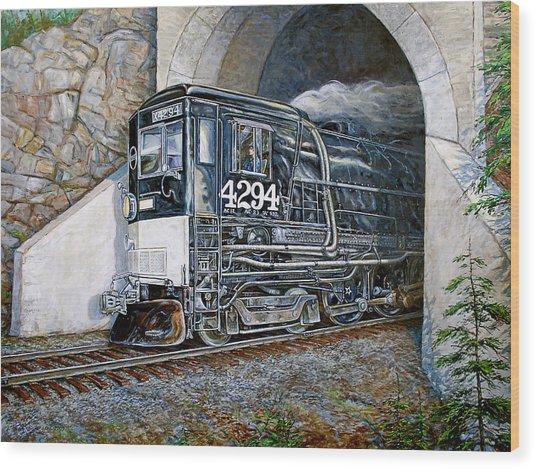 Cab Forward Wood Print by Gary Symington