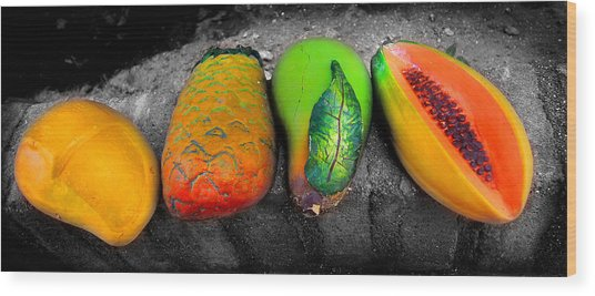Cabo Art 2 Of 3 Series Wood Print